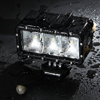 LINGLE L15 Waterproof LED LightAction Cameras &amp; Sport DV Accessories<br>LINGLE L15 Waterproof LED Light<br><br>Accessory type: Video Light<br>Apply to Brand: Gopro,SJCAM,Xiaomi<br>Brand: LINGLE<br>Compatible with: SJCAM 5000 plus, SJCAM M10, SJCAM M10 Plus, SJCAM M20, YI, YI II, SJCAM 4000 plus, GoPro Hero Series, GoPro Hero 5, GoPro Hero 4 Session, Gopro Hero 4, Gopro Hero 3 Plus, Gopro Hero 3, Gopro Hero 2, Gopro Hero 1, Action Camera<br>IPXX Rating: IP68<br>Material: Plastic<br>Package Contents: 1 x LINGLE L15 30M Waterproof LED Light, 1 x Rechargeable 1300mAh Battery, 1 x Mount, 1 x Screw, 1 x USB Cable ( 72cm Length ), 1 x Spanner<br>Package size (L x W x H): 20.50 x 10.00 x 5.00 cm / 8.07 x 3.94 x 1.97 inches<br>Package weight: 0.223 kg<br>Product size (L x W x H): 8.00 x 7.00 x 4.00 cm / 3.15 x 2.76 x 1.57 inches<br>Product weight: 0.079 kg<br>Waterproof: Yes