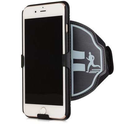 Stylish Sports Arm Band Phone Case Strap for iPhone 7 PlusiPhone Cases/Covers<br>Stylish Sports Arm Band Phone Case Strap for iPhone 7 Plus<br><br>Color: Black<br>Compatible for Apple: iPhone 7 Plus<br>Features: Anti-knock, Sports Case<br>Material: Nylon, PC<br>Package Contents: 1 x Armband Case<br>Package size (L x W x H): 26.00 x 19.00 x 4.00 cm / 10.24 x 7.48 x 1.57 inches<br>Package weight: 0.145 kg<br>Product size (L x W x H): 48.00 x 16.30 x 2.00 cm / 18.9 x 6.42 x 0.79 inches<br>Product weight: 0.108 kg<br>Style: Cool, Modern