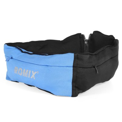 ROMIX RH26 Sports Waist BagWaistpacks<br>ROMIX RH26 Sports Waist Bag<br><br>Brand: ROMIX<br>Features: Reflective, Ultra Light<br>For: Cycling, Exercise and Fitness, Sports<br>Package Contents: 1 x ROMIX RH26 Waist Bag<br>Package size (L x W x H): 32.00 x 10.00 x 3.20 cm / 12.6 x 3.94 x 1.26 inches<br>Package weight: 0.147 kg
