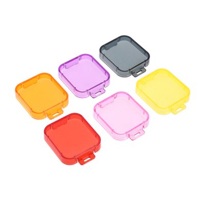6PCS Color-correction Filter for GoPro HERO5Action Cameras &amp; Sport DV Accessories<br>6PCS Color-correction Filter for GoPro HERO5<br><br>Accessory type: Filters<br>Apply to Brand: Gopro<br>Compatible with: GoPro Hero 5<br>Material: Plastic<br>Package Contents: 6 x Filter<br>Package size (L x W x H): 18.00 x 12.00 x 4.00 cm / 7.09 x 4.72 x 1.57 inches<br>Package weight: 0.050 kg<br>Product size (L x W x H): 3.50 x 4.00 x 1.00 cm / 1.38 x 1.57 x 0.39 inches<br>Product weight: 0.025 kg