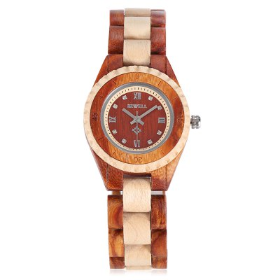 BEWELL ZS - W128AL Fashion Wooden Lady Quartz WatchWomens Watches<br>BEWELL ZS - W128AL Fashion Wooden Lady Quartz Watch<br><br>Band material: Wood<br>Band size: 21 x 1.7 cm / 8.27 x 0.67 inches<br>Brand: Bewell<br>Case material: Wood<br>Clasp type: Butterfly clasp<br>Dial size: 3.2 x 3.2 x 1 cm / 1.26 x 1.26 x 0.39 inches<br>Display type: Analog<br>Movement type: Quartz watch<br>Package Contents: 1 x BEWELL ZS - W128AL Fashion Lady Quartz Watch, 1 x Box<br>Package size (L x W x H): 8.50 x 8.00 x 5.00 cm / 3.35 x 3.15 x 1.97 inches<br>Package weight: 0.090 kg<br>Product size (L x W x H): 21.00 x 3.20 x 1.00 cm / 8.27 x 1.26 x 0.39 inches<br>Product weight: 0.034 kg<br>Shape of the dial: Round<br>Watch color: Deep Brown, Coffee, Beige<br>Watch style: Fashion<br>Watches categories: Female table<br>Water resistance : Life water resistant