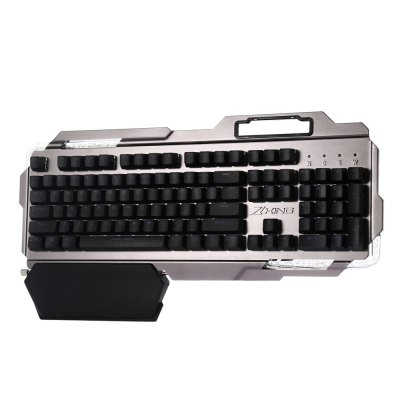 king X5 Mechanical KeyboardKeyboards<br>king X5 Mechanical Keyboard<br><br>Anti-ghosting Number: N-key Rollover<br>Brand: king<br>Cable Length (m): 1.8m<br>Connection: USB2.0<br>Features: Gaming<br>Interface: Wired<br>Keyboard Lifespan ( times): 50 million<br>Material: ABS<br>Model: X5<br>Package Contents: 1 x king X5 Mechanical Gaming Keyboard<br>Package size (L x W x H): 52.50 x 26.50 x 6.00 cm / 20.67 x 10.43 x 2.36 inches<br>Package weight: 1.444 kg<br>Response Speed: 3ms<br>Type: Keyboard