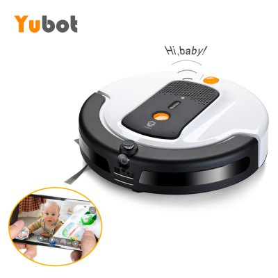 Yubot Smart Robotic Vacuum Cleaner Cordless Sweeping Cleaning Machine