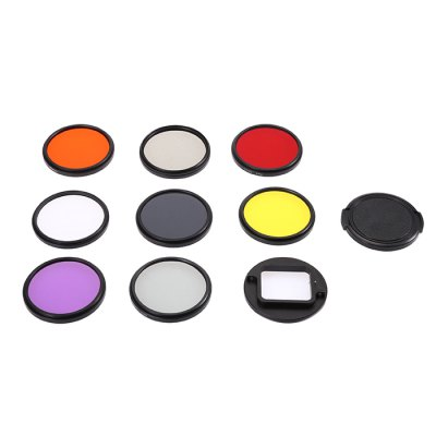 LINGLE AT643 52mm Lens Protector KitAction Cameras &amp; Sport DV Accessories<br>LINGLE AT643 52mm Lens Protector Kit<br><br>Accessory type: Filter Lens Adapter, Filters, Lens Cover<br>Apply to Brand: Gopro<br>Brand: LINGLE<br>Compatible with: GoPro Hero 5<br>Material: Plastic<br>Package Contents: 1 x CPL Filter, 1 x ND2 Filter, 1 x ND8 Filter, 1 x UV Filter, 1 x Orange Filter, 1 x Red Filter, 1 x Yellow Filter, 1 x FLD Filter, 1 x Lens Cover, 1 x Filter Lens Adapter, 1 x Screwdriver<br>Package size (L x W x H): 6.50 x 6.50 x 6.00 cm / 2.56 x 2.56 x 2.36 inches<br>Package weight: 0.146 kg<br>Product size (L x W x H): 5.40 x 5.40 x 5.00 cm / 2.13 x 2.13 x 1.97 inches<br>Product weight: 0.087 kg