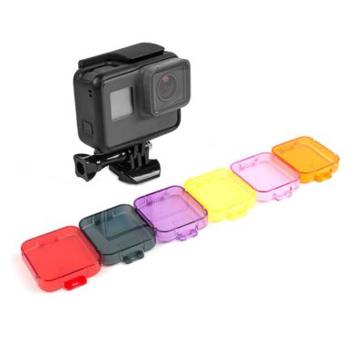 6PCS Color-correction Filter for GoPro HERO5