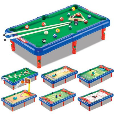DECAKER 6 in 1 Billiard Ball Table Top Toy