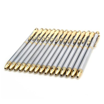 JINHAO 833 Stainless Steel Ballpoint Pen 15PCS for Writing