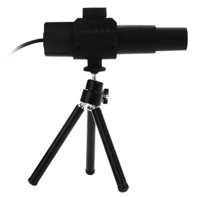 KELIMA 2MP Digital Telescope 70x Spotting ScopeOther Instruments<br>KELIMA 2MP Digital Telescope 70x Spotting Scope<br><br>Brand: KELIMA<br>Material: Plastic<br>Package Contents: 1 x Microscope ( 150cm Line ), 1 x Tripod, 1 x CD, 1 x English Manual<br>Package size: 18.00 x 14.00 x 7.00 cm / 7.09 x 5.51 x 2.76 inches<br>Package weight: 0.255 kg<br>Primary functions: 2MP Monitor Camera for Monitoring<br>Product size: 15.00 x 4.00 x 6.50 cm / 5.91 x 1.57 x 2.56 inches<br>Product weight: 0.092 kg<br>Scope of application: Supermarket, Market, Home appliance, Education, Agricultural, Industrial<br>Type: Professional instruments