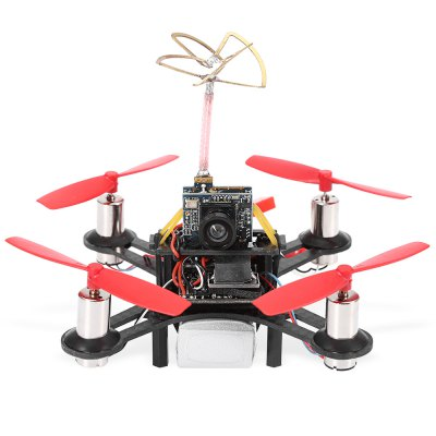 Tiny QX90 90mm Wheelbase Racing Drone BNFMulti Rotor Parts<br>Tiny QX90 90mm Wheelbase Racing Drone BNF<br><br>Package Contents: 1 x Racing Drone, 1 x 7.4V 300mAh 25C LiPo Battery<br>Package size (L x W x H): 11.00 x 11.00 x 10.00 cm / 4.33 x 4.33 x 3.94 inches<br>Package weight: 0.140 kg<br>Product size (L x W x H): 8.00 x 8.00 x 7.00 cm / 3.15 x 3.15 x 2.76 inches<br>Product weight: 0.056 kg<br>Type: Frame Kit