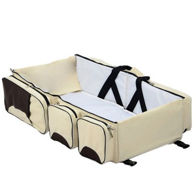 Foldable Baby Infant Crib Portable Cot BedBaby Carriers &amp; Backpacks<br>Foldable Baby Infant Crib Portable Cot Bed<br><br>Color: Khaki,Red<br>Material: Cotton<br>Package Contents: 1 x Baby Travel Bed<br>Package size (L x W x H): 38.00 x 17.00 x 39.00 cm / 14.96 x 6.69 x 15.35 inches<br>Package weight: 2.050 kg<br>Product size (L x W x H): 74.00 x 35.00 x 18.00 cm / 29.13 x 13.78 x 7.09 inches<br>Product weight: 1.750 kg<br>Type: Crib &amp; Toddler Mattresses