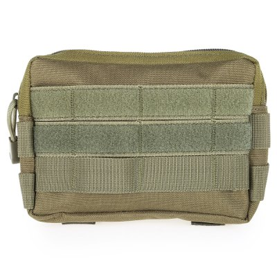 JINJULI Accessory PouchWaistpacks<br>JINJULI Accessory Pouch<br><br>Brand: JINJULI<br>Color: Army green,Black,Khaki<br>Features: Ultra Light, molle system<br>For: Travel, Sports, Camping<br>Material: Nylon<br>Package Contents: 1 x JINJULI Waist Bag<br>Package size (L x W x H): 22.00 x 15.00 x 2.00 cm / 8.66 x 5.91 x 0.79 inches<br>Package weight: 0.124 kg<br>Product size (L x W x H): 18.00 x 5.00 x 13.00 cm / 7.09 x 1.97 x 5.12 inches<br>Product weight: 0.087 kg