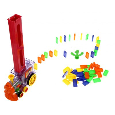 Domino Train Toy Educational Christmas Present