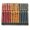 cheap BAOER 801 Leopard Pattern 5PCS Metal Fountain Pen