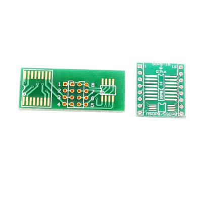 Excellent quality SOP8 DIP8 Simple Circuit Board Module ConverterOther Accessories<br>Excellent quality SOP8 DIP8 Simple Circuit Board Module Converter<br><br>Material: PCB<br>Product weight: 0.004 kg<br>Package weight: 0.070 kg<br>Product Size(L x W x H): 3.80 x 1.70 x 1.50 cm / 1.5 x 0.67 x 0.59 inches<br>Package Size(L x W x H): 6.00 x 4.00 x 3.00 cm / 2.36 x 1.57 x 1.18 inches<br>Package Contents: 1 x SOP8 Board, 1 x DIP8 Board