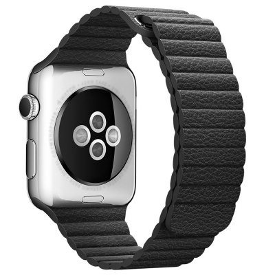 Leather Surface Watchband Wrist Strap for Apple Watch 38mm