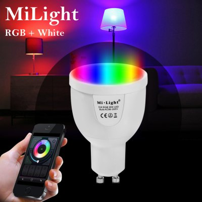 MiLight WiFi LED Spot Bulb 64 Hundred Thousand Colors Ambient Light