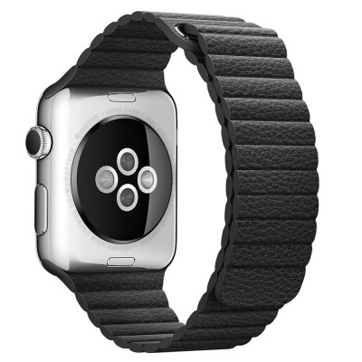 Leather Surface Watchband Wrist Strap for Apple Watch 42mm