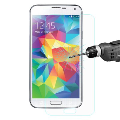 Hat Prince Protective Tempered Glass Screen Film for Samsung S5