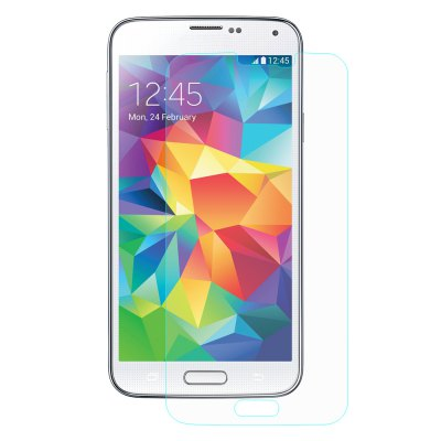 Hat-Prince Protective Tempered Glass Screen Film for Samsung S5Samsung Screen Protectors<br>Hat-Prince Protective Tempered Glass Screen Film for Samsung S5<br><br>Brand: Hat-Prince<br>Compatible Phone Brand: SAMSUNG<br>Compatible with: Galaxy S5<br>Features: Protect Screen, High-definition, High Transparency, High sensitivity, Anti scratch, Shock Proof<br>For: Samsung Mobile Phone<br>Material: Tempered Glass<br>Package Contents: 1 x Glass Protector, 1 x Dust-absorber, 1 x Cleaning Cloth, 1 x Alcohol Prep Pad<br>Package size (L x W x H): 18.00 x 8.50 x 1.50 cm / 7.09 x 3.35 x 0.59 inches<br>Package weight: 0.075 kg<br>Product Size(L x W x H): 13.80 x 6.90 x 0.01 cm / 5.43 x 2.72 x 0 inches<br>Product weight: 0.008 kg<br>Surface Hardness: 9H<br>Thickness: 0.26mm<br>Type: Screen Protector