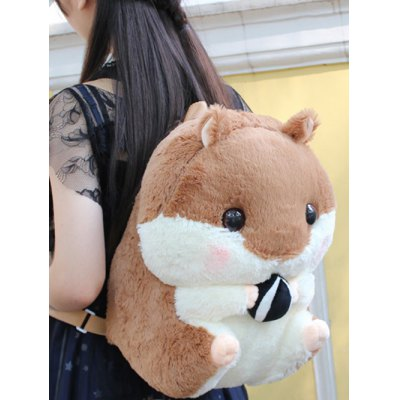 Plush Hamster Backpack