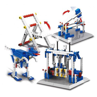 4 in 1 Mechanical Theme Building Block