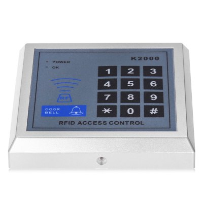 XSC K2000 Access System Security MachineAccess Control<br>XSC K2000 Access System Security Machine<br><br>Brand: XSC<br>Model: K2000<br>Package Contents: 1 x XSC Access System, 5 x Access Card, 1 x English User Manual<br>Package size (L x W x H): 13.50 x 14.00 x 3.30 cm / 5.31 x 5.51 x 1.3 inches<br>Package weight: 0.2150 kg<br>Product size (L x W x H): 11.00 x 11.00 x 2.20 cm / 4.33 x 4.33 x 0.87 inches<br>Product weight: 0.1290 kg<br>Type ( Access Control ): Access Control Systems