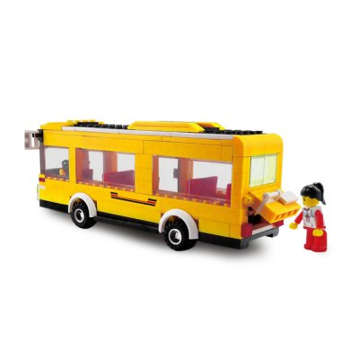 Cartoon Bus ABS Cartoon Building BrickBlock Toys<br>Cartoon Bus ABS Cartoon Building Brick<br><br>Completeness: Semi-finished Product<br>Gender: Unisex<br>Materials: ABS<br>Package Contents: 1 x Module Set, 1 x Instruction Operation<br>Package size: 33.70 x 10.00 x 26.00 cm / 13.27 x 3.94 x 10.24 inches<br>Package weight: 0.612 kg<br>Product size: 21.50 x 8.50 x 8.50 cm / 8.46 x 3.35 x 3.35 inches<br>Product weight: 0.280 kg<br>Stem From: Europe and America<br>Theme: Movie and TV