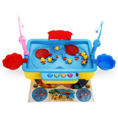 Creative Fishing Game Family Desktop Christmas PresentOther Educational Toys<br>Creative Fishing Game Family Desktop Christmas Present<br><br>Completeness: Finished Goods<br>Gender: Unisex<br>Materials: ABS, Other, Electronic Components<br>Package Contents: 1 x Fishing Toy<br>Package size: 22.00 x 9.00 x 31.00 cm / 8.66 x 3.54 x 12.2 inches<br>Package weight: 0.810 kg<br>Product size: 30.00 x 18.00 x 10.00 cm / 11.81 x 7.09 x 3.94 inches<br>Stem From: China<br>Theme: Movie and TV,Music