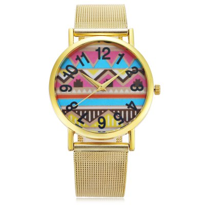 445 Fashion Lady Quartz WatchWomens Watches<br>445 Fashion Lady Quartz Watch<br><br>Available Color: Gold<br>Band material: Steel<br>Band size: 23.2 x 2 cm / 9.13 x 0.79 inches<br>Case material: Alloy<br>Clasp type: Pin buckle<br>Dial size: 3.8 x 3.8 x 0.6 cm / 1.5 x 1.5 x 0.24 inches<br>Display type: Analog<br>Movement type: Quartz watch<br>Package Contents: 1 x 445 Fashion Lady Quartz Watch<br>Package size (L x W x H): 24.20 x 4.80 x 1.60 cm / 9.53 x 1.89 x 0.63 inches<br>Package weight: 0.078 kg<br>Product size (L x W x H): 23.20 x 3.80 x 0.60 cm / 9.13 x 1.5 x 0.24 inches<br>Product weight: 0.045 kg<br>Shape of the dial: Round<br>Watch style: Fashion<br>Watches categories: Female table<br>Wearable length: 16.8 - 21.3 cm / 6.61 - 8.39 inches