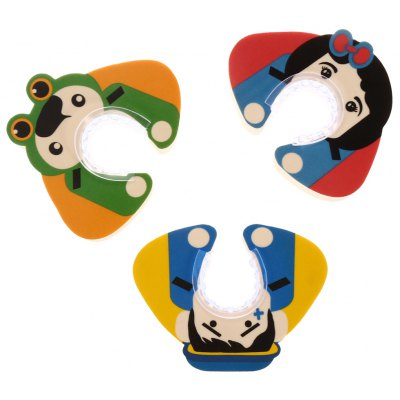 3PCS BabyMatee Cartoon Baby Safety Finger Pinch Guard