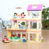 Buy Figure House Style Cartoon ABS Building Brick COLORMIX