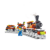 Train Theme ABS Cartoon Building Brick
