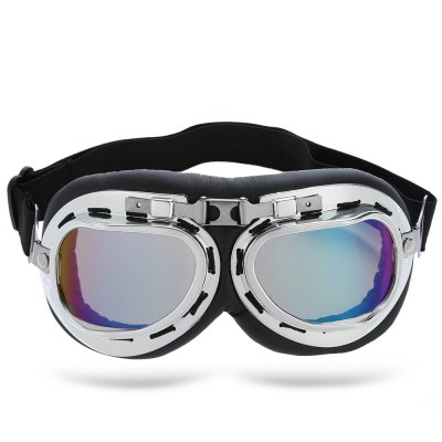 UV-resistant Protective Glasses Windproof Motorcycle GoggleSunglasses &amp; Sports Glasses<br>UV-resistant Protective Glasses Windproof Motorcycle Goggle<br><br>Functions: Dustproof,UV Protection,Windproof<br>Lens width: 7cm<br>Lens height: 4.5cm<br>Product weight: 0.052 kg<br>Product size (L x W x H): 19.00 x 8.50 x 4.00 cm / 7.48 x 3.35 x 1.57 inches<br>Package weight: 0.086 kg<br>Package size (L x W x H): 20.00 x 9.00 x 3.00 cm / 7.87 x 3.54 x 1.18 inches<br>Package Contents: 1 x Protective Glasses