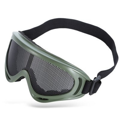 Shock-resistant Protective Glasses Goggle with Metal Net Lens