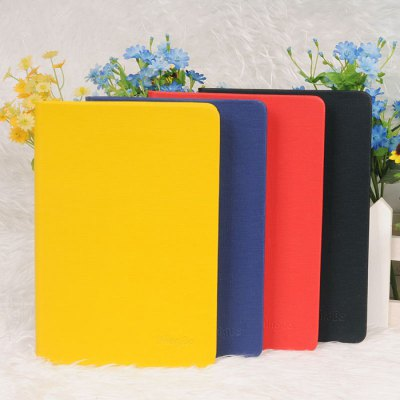 Delicate PU Notebook Note BookNotebooks &amp; Pads<br>Delicate PU Notebook Note Book<br><br>Type: Others<br>Material: Paper<br>Color: Black,Blue,Red,Yellow<br>Product weight: 0.650 kg<br>Package weight: 0.720 kg<br>Product size (L x W x H): 25.00 x 17.00 x 1.70 cm / 9.84 x 6.69 x 0.67 inches<br>Package size (L x W x H): 26.00 x 18.00 x 2.70 cm / 10.24 x 7.09 x 1.06 inches<br>Package Contents: 1 x Notebook