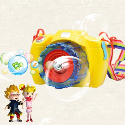 Camera Outdoor Toy Kid Bubble Blower