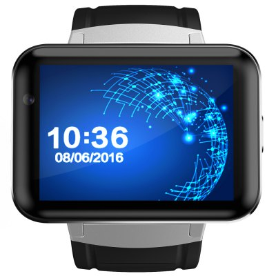 DOMINO DM98 3G Smartwatch PhoneSmart Watch Phone<br>DOMINO DM98 3G Smartwatch Phone<br><br>Brand: DOMINO<br>Type: Watch Phone<br>OS: Android 4.4<br>CPU: MTK6572<br>Cores: 1.2GHz,Dual Core<br>RAM: 512MB<br>ROM: 4GB<br>External Memory: Not Supported<br>Compatible OS: Android<br>Wireless Connectivity: 3G,Bluetooth 4.0,GPS,GSM,WiFi<br>Network type: GSM+WCDMA<br>Frequency: GSM 850/900/1800/1900MHz WCDMA 900/2100MHz<br>Support 3G : Yes<br>GPS: Yes<br>Bluetooth version: V4.0<br>Screen type: Capacitive<br>Screen size: 2.2 inch<br>Screen resolution: 320 x 240<br>Camera type: Single camera<br>Front camera: 1.3MP<br>Video recording: Yes<br>SIM Card Slot: Single SIM<br>Micro USB Slot: Yes<br>Speaker: Supported<br>Picture format: BMP,JPEG,PNG<br>Music format: MP3,WAV<br>Video format: MP4<br>Games: Android APK<br>Languages: Simplified / Traditional Chinese, English, French, German, Spanish, Portuguese, Italian, Dutch, Russian, Polish, Turkish, Korean, Hebrew, Malay, Indonesian, Vietnamese, Arabic, Thai, Burmese<br>Additional Features: 2G,3G,Alarm,Bluetooth,GPS,MP3,MP4,Sound Recorder,Video Call,Wi-Fi<br>Functions: Pedometer<br>Cell Phone: 1<br>Screen Protector: 1<br>Battery: 900mAh Built-in<br>USB Cable: 1<br>English Manual : 1<br>Product size: 5.90 x 2.60 x 1.20 cm / 2.32 x 1.02 x 0.47 inches<br>Package size: 12.00 x 10.50 x 8.90 cm / 4.72 x 4.13 x 3.5 inches<br>Product weight: 0.092 kg<br>Package weight: 0.283 kg