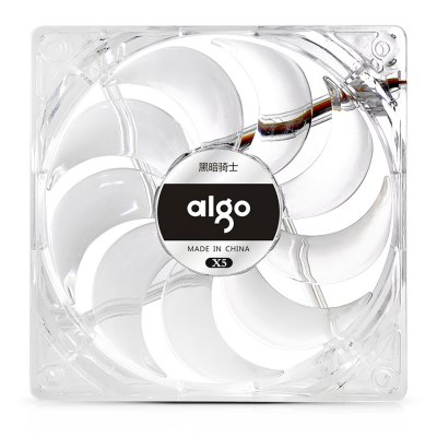 Aigo X5 12CM Computer Case CoolerCPU Cooler<br>Aigo X5 12CM Computer Case Cooler<br><br>Brand: Aigo<br>CFM: 35<br>Compatible: LGA1150, Inter LGA775, Inter LGA1366, Inter LGA1156, Inter LGA1155, Celeron D, AMD940, AMD939, AMD754, AMD FM1, AMD AM3, AMD AM2+, AMD AM2<br>Fan Pin: 3 pin,4 pin<br>Mounting Hole Size: 4<br>Package Contents: 1 x Aigo X5 Computer Case Cooler, 4 x Screw<br>Package size (L x W x H): 16.50 x 12.30 x 2.60 cm / 6.5 x 4.84 x 1.02 inches<br>Package weight: 0.134 kg<br>Product size (L x W x H): 12.00 x 12.00 x 2.50 cm / 4.72 x 4.72 x 0.98 inches<br>Product weight: 0.088 kg<br>Speed: 1600RPM<br>Type: Cooling Fan