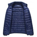 cheap Glazed Zipper Front Stand-up Collar Quilted Jacket