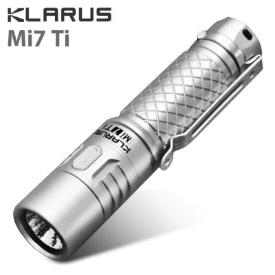Klarus Mi7 Ti Flashlight