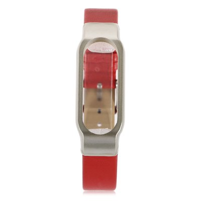 Ultrathin Watch Strap for Xiaomi Miband 2Smart Watch Accessories<br>Ultrathin Watch Strap for Xiaomi Miband 2<br><br>Type: Smart watch / wristband band<br>Vailable brand: Xiaomi<br>Color: Black,Brown,Red,White<br>Product weight: 0.008 kg<br>Package weight: 0.020 kg<br>Product size (L x W x H): 23.20 x 2.00 x 0.70 cm / 9.13 x 0.79 x 0.28 inches<br>Package size (L x W x H): 8.00 x 7.00 x 2.00 cm / 3.15 x 2.76 x 0.79 inches<br>Package Contents: 1 x Watch Strap for Xiaomi Miband 2, 1 x Transparent Box