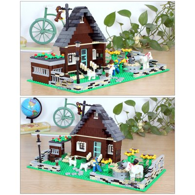 Figure House Style Cartoon ABS Building Brick ToyBlock Toys<br>Figure House Style Cartoon ABS Building Brick Toy<br><br>Materials: ABS<br>Completeness: Semi-finished Product<br>Theme: Movie and TV<br>Gender: Unisex<br>Stem From: Europe and America<br>Product weight: 0.650 kg<br>Package weight: 0.720 kg<br>Product size: 38.00 x 19.00 x 20.00 cm / 14.96 x 7.48 x 7.87 inches<br>Package size: 50.00 x 5.00 x 30.00 cm / 19.69 x 1.97 x 11.81 inches<br>Package Contents: 1 x Module Set, 1 x Instruction Operation