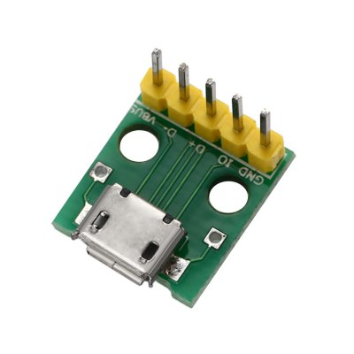 Micro USB Interface to 2.54mm DIP 5P Adapter Module