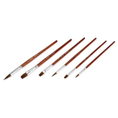 WeiYiMei 6 in 1 Painting Brush for PaintPainting Supplies<br>WeiYiMei 6 in 1 Painting Brush for Paint<br><br>Brand: WeiYiMei<br>Features: Painting Brush<br>Material: Wood<br>Product weight: 0.035 kg<br>Package weight: 0.066 kg<br>Package size (L x W x H): 27.00 x 11.50 x 1.00 cm / 10.63 x 4.53 x 0.39 inches<br>Package Contents: 6 x Painting Brush