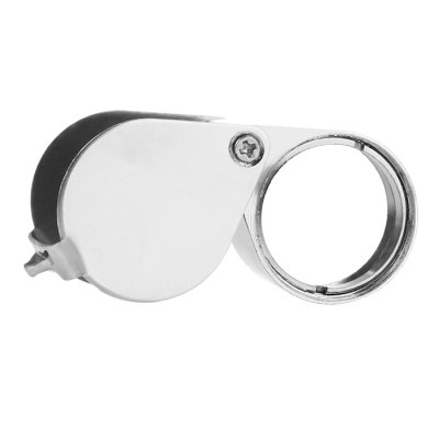 Portable Folding 10 - 30 Times Magnifier