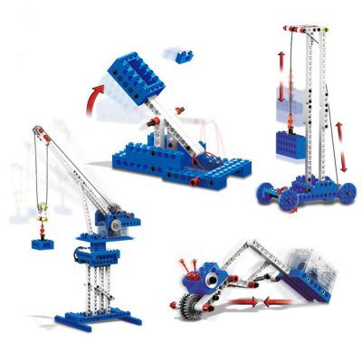 Mechanical Theme 3D Puzzle Electric ToyBlock Toys<br>Mechanical Theme 3D Puzzle Electric Toy<br><br>Completeness: Semi-finished Product<br>Gender: Unisex<br>Materials: ABS, Electronic Components, Other<br>Package Contents: 1 x Module Set, 1 x Operation Instruction<br>Package size: 28.20 x 6.20 x 19.60 cm / 11.1 x 2.44 x 7.72 inches<br>Package weight: 0.8600 kg<br>Product size: 15.00 x 10.00 x 5.00 cm / 5.91 x 3.94 x 1.97 inches<br>Product weight: 0.7000 kg<br>Stem From: China<br>Theme: Other
