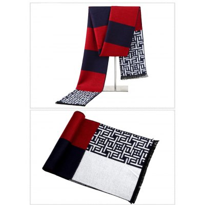 Men Knitted Scarf