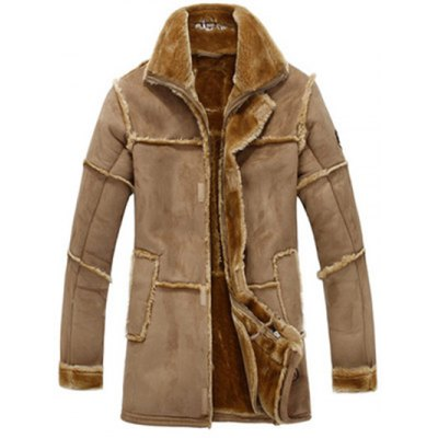 JUSTWIN Men Rough Splicing One Fur Long JacketMens Jackets &amp; Coats<br>JUSTWIN Men Rough Splicing One Fur Long Jacket<br><br>Closure Type: Zipper<br>Clothes Type: Jackets<br>Collar: Turn-down Collar<br>Embellishment: Fur collar<br>Materials: Acrylic, buckskin<br>Package Content: 1 x JUSTWIN Men Long Jacket<br>Package Dimension: 40.00 x 30.00 x 8.00 cm / 15.75 x 11.81 x 3.15 inches<br>Package weight: 1.300 kg<br>Pattern Type: Patchwork<br>Product weight: 0.900 kg<br>Seasons: Autumn,Winter<br>Shirt Length: Long<br>Size1: 2XL,L,M,XL<br>Sleeve Length: Long Sleeves<br>Style: Vintage<br>Thickness: Medium thickness