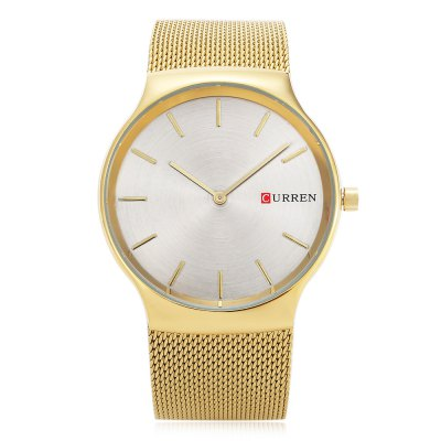 CURREN 8256 Casual Men Quartz WatchMens Watches<br>CURREN 8256 Casual Men Quartz Watch<br><br>Band material: Stainless Steel<br>Band size: 23.5 x 2.3 cm / 9.25 x 0.91 inches<br>Brand: Curren<br>Case material: Stainless Steel<br>Clasp type: Hook buckle<br>Dial size: 4 x 4 x 0.8 cm / 1.57 x 1.57 x 0.31 inches<br>Display type: Analog<br>Movement type: Quartz watch<br>Package Contents: 1 x CURREN 8256 Casual Men Quartz Watch, 1 x Box<br>Package size (L x W x H): 11.30 x 8.40 x 6.80 cm / 4.45 x 3.31 x 2.68 inches<br>Package weight: 0.202 kg<br>Product size (L x W x H): 23.50 x 4.00 x 0.80 cm / 9.25 x 1.57 x 0.31 inches<br>Product weight: 0.072 kg<br>Shape of the dial: Round<br>Watch color: Blue, Gold, Silver, Black, Rose Gold<br>Watch style: Casual<br>Watches categories: Male table<br>Water resistance : Life water resistant