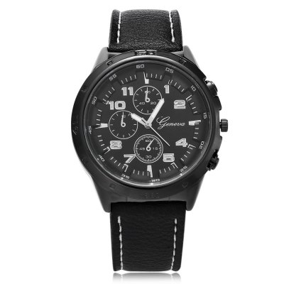 Geneva 449 Casual Unisex Quartz WatchUnisex Watches<br>Geneva 449 Casual Unisex Quartz Watch<br><br>Available Color: Black,Blue,Red,White<br>Band material: Leather<br>Band size: 25.5 x 2.4 cm / 10.04 x 0.94 inches<br>Brand: Geneva<br>Case material: Alloys<br>Clasp type: Pin buckle<br>Dial size: 4.3 x 4.3 x 1.5 cm / 1.69 x 1.69 x 0.59 inches<br>Display type: Analog<br>Movement type: Quartz watch<br>Package Contents: 1 x Geneva 449 Casual Unisex Quartz Watch<br>Package size (L x W x H): 26.50 x 5.30 x 2.50 cm / 10.43 x 2.09 x 0.98 inches<br>Package weight: 0.092 kg<br>People: Female table,Male table<br>Product size (L x W x H): 25.50 x 4.30 x 1.50 cm / 10.04 x 1.69 x 0.59 inches<br>Product weight: 0.058 kg<br>Shape of the dial: Round<br>Watch style: Casual<br>Wearable length: 19 - 23.2 cm / 7.48 - 9.13 inches